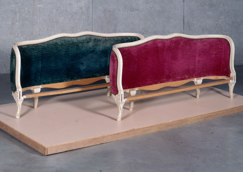 John M. Armleder,<i> Furniture Sculpture (n°232)</i>, 1990